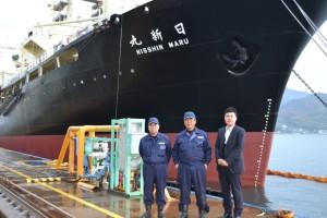共同船舶㈱殿 捕鯨調査船(日新丸)