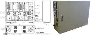コロナ放電方式:空冷タイプ